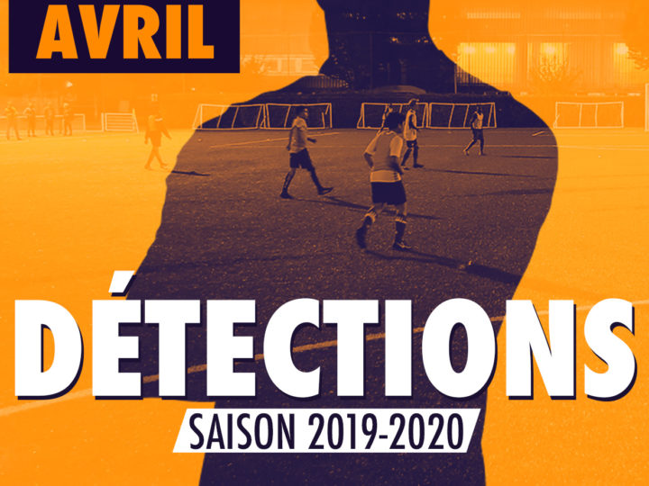 DÉTECTION SAISON 2019-2020