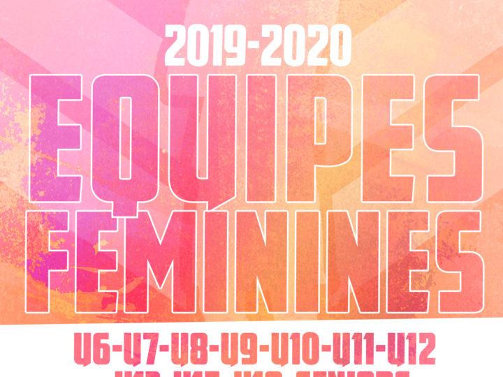 EQUIPES FÉMININES 2019-2020